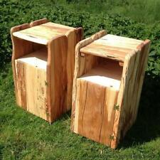 Solid Wood Unbranded Bedside Tables & Cabinets