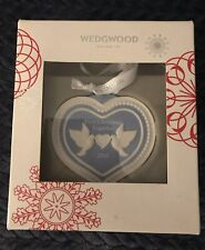 """NEW IN BOX WEDGEWOOD """"2016, FIRST CHRISTMAS TOGETHER"""" CHRISTMAS TREE ORNAMENT"""