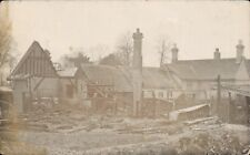 Mildenhall posted Ruins of Our Stables. Annie to Miss Osborne, Wickham Market.