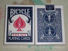 1 deck BLUE Bicycle playing cards ~blue seal~By ERLANGER Kenturkey.USA S1030519
