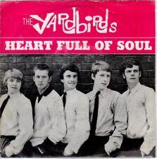 raro 45 giri THE YARDBIRDS - Heart full of soul / Steeled blues