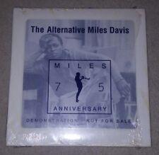 The Alternative Miles Davis 2001 CD promotional 75th anniversary