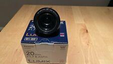 Panasonic Lumix H-H020AE-K 20mm f/1.7 Aspherical G Lens