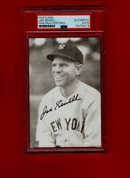 1931/33 JOE SEWELL-NY YANKEES  AUTOGRAPHED POSTCARD PHOTO ENCASED-PSA-(d.1990)