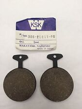 YAMAHA RD350 B FRONT BRAKE PADS 1974 TO 1976
