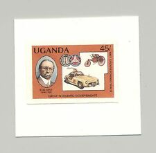Uganda #567 Benz, Automobiles, 1v imperf proof mounted on card