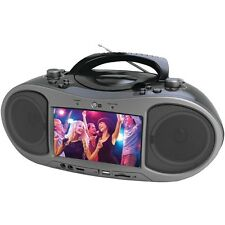 """NEW Naxa Ndl-256 7"""" Bluetooth(r) Dvd Boom Box"""