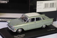 MINICHAMPS OPEL KAPITAN 1959 GREEN METALLIC 1/43