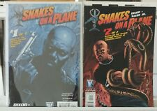 Snakes on a Plane Art Cover 1,2 Complete Set Series Run Lot 1-2 FN