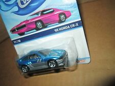honda CR-X  Spectrafrost BLUE  11/30 2013 Hot Wheels Cool Classics CRX