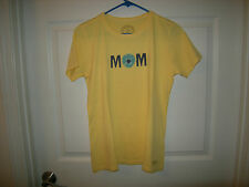 "Brand New Misses Yellow Life is Good ""Mom"" Shirt, Size S"