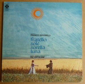 Fratello Sole Sorella Luna - Soundtrack - 1972 Italy 1st Press - VG+/NM Vinyl LP