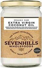 Sevenhills Wholefoods Huile Extra Vierge De Noix De Coco Bio 1L, Pressée à Froid
