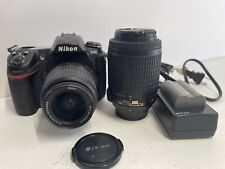 Nikon D D300 Digital SLR Camera -used With 18-55mm And 55-200mm Vr.33,400 Clicks