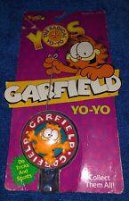 """Vintage Retro 1989 YOS """"The Radical Yo-Yo"""" GARFIELD YO-YO by Spectra Star - NIP"""