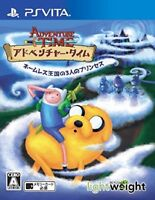 USED PS VITA Adventure Time Three princesses in nameless Kingdom the