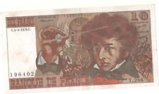 Billet 10 francs Berlioz 1976 TTB++/SUP-