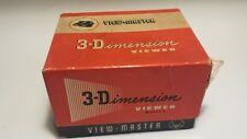 Viewmaster alt mit Originalkarton sehr gut erhalten Bakelit OVP etwas angerissen