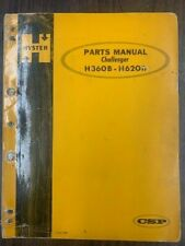 HYSTER CHALLENGER H360B-H620B PARTS MANUAL FORM 993