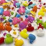 50/100pcs Duck Plastic Buttons backhole DIY buttons sewing appliques PT35