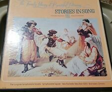 The Family Library of Beautiful Listening Stories in Song vinyl 3x LP BOX SEALED