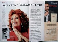 Mag LE POINT 2014: SOPHIA LOREN_BORIS CYRULNIK