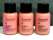 Lot Of 3 Perricone No Blush Blush 0.17 oz each Nwob Travel size