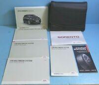 19 2019 Kia Sorento owners manual with Multimedia