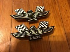 1963 1964 FORD GALAXIE 289 EAGLE PERFORMANCE BIRD EMBLEMS SET PAIR NEW VINTAGE