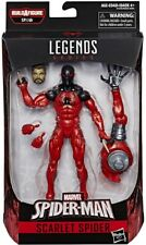 Sealed NEW Marvel Legends Scarlet Spider-man Figure BAF