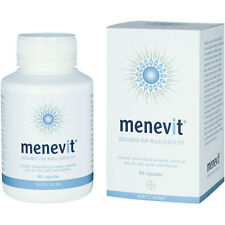 Brand New and Sealed Menevit 90 Capsules Designed for Male fertility
