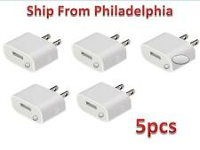 5 USB Rapid Travel Battery Home Wall AC Charger Adapter for Apple iPhone 5 5G 5S