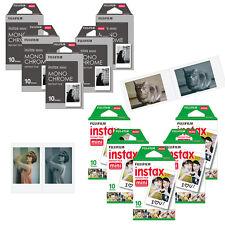 Fujifilm Instax Mini Film Photo 5 Pack MonoChrome/White - Fuji Polaroid 300 8 90