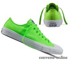Men Women CONVERSE All Star CHUCK 11 NEON GREEN GECKO Trainers Shoes UK SIZE 9.5