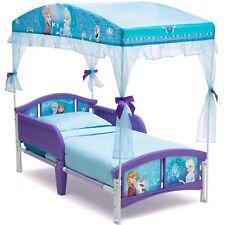 Toddler Girls Bed Frozen Princess Kids Bedroom Furniture Heavy Duty Plastic New