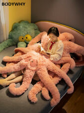 Octopus bed pillow animal cushion large girl bedroom home cushion plush toy doll