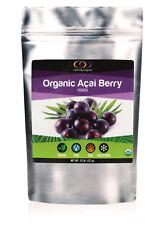 Optimally Organic Acai Berry Powder - Pure, Bioactive, Vegan Protein