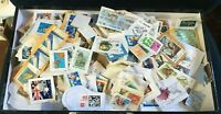 Kiloware Bulk Unsorted 220g Australian Decimal Used Stamps on Paper 1000+