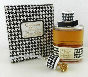 Christian Dior C. 2 fl oz Miss Dior Perfume Eau De Cologne Perfume ~ F28