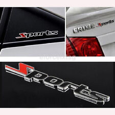 3D Sport Word Letter Sticker Logo Emblem Badge Auto Car Racing Motor Logo Decal