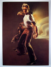 EVERY WHICH WAY BUT LOOSE KEY ART BOB PEAK Lithograph 1987 LE CLINT EASTWOOD