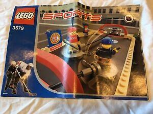 LEGO 3579 2004 NHL  Street Hockey - with instructions