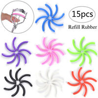 15Pcs Refill Rubber Pads Make Up Tool Replacement Eyelash Curler Circle To JB