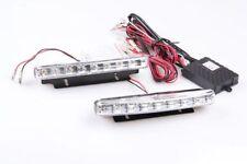 LED 6000k 12v DRL LUCE DIURNA 16 SMD TÜV LIBERO modulo r87 155/18/37 mm VW