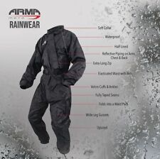 ARMR RainWear Motorcycle Motorbike Scooter Lined Rain Waterproof Over Suit