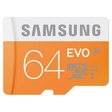 Samsung Evo 64GB Micro SD SDXC Memory Card 48MB/s Class 10 UHS-I in Sydney