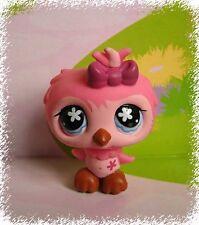 LITTLEST PET SHOP(55)-Pink Owl #496 Rare