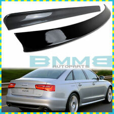 Painted All Color AUDI 2014 A6 C7 4DR Saloon Sedan Roof Sport Spoiler Wing
