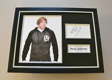 Dean Ambrose Signed Framed 16x12 Photo Wrestling Memorabilia Autograph Display