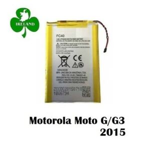 For Motorola Moto G (3rd Gen) G3 New Battery FC40 Replacement New 2470mA